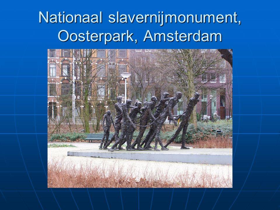 Nationaal slavernijmonument, Oosterpark, Amsterdam