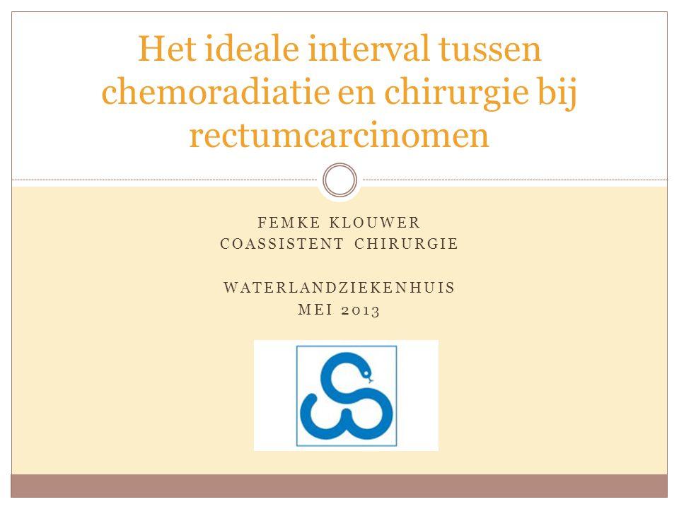 FEMKE KLOUWER COASSISTENT CHIRURGIE WATERLANDZIEKENHUIS MEI 2013