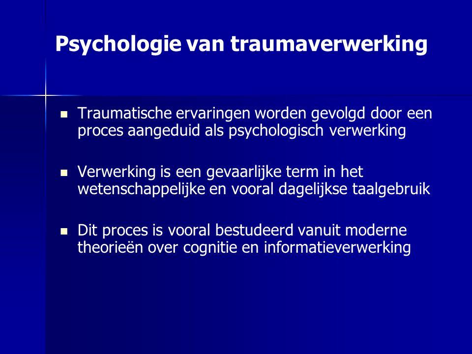 Psychologie van traumaverwerking