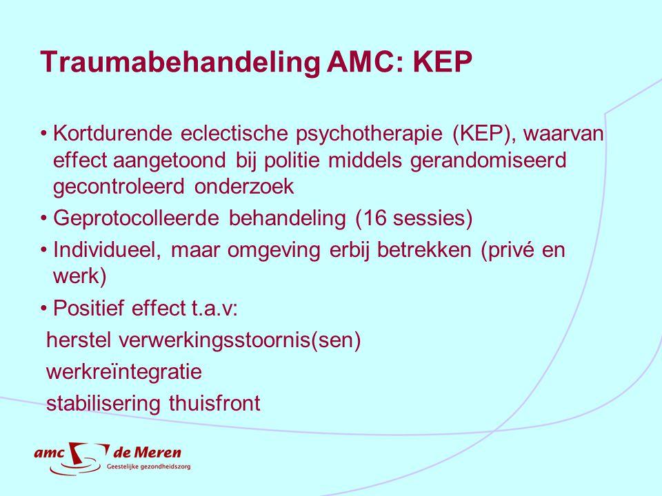Traumabehandeling AMC: KEP