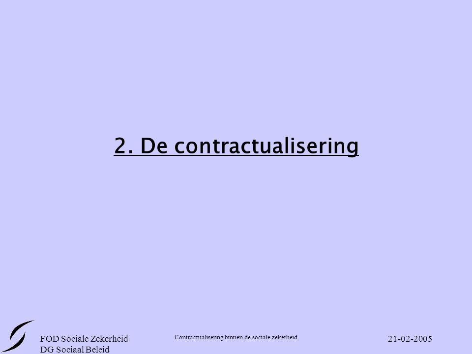2. De contractualisering