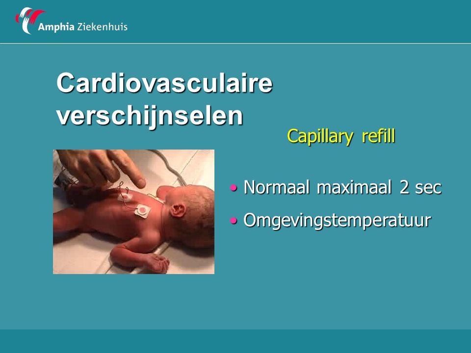 Cardiovasculaire verschijnselen
