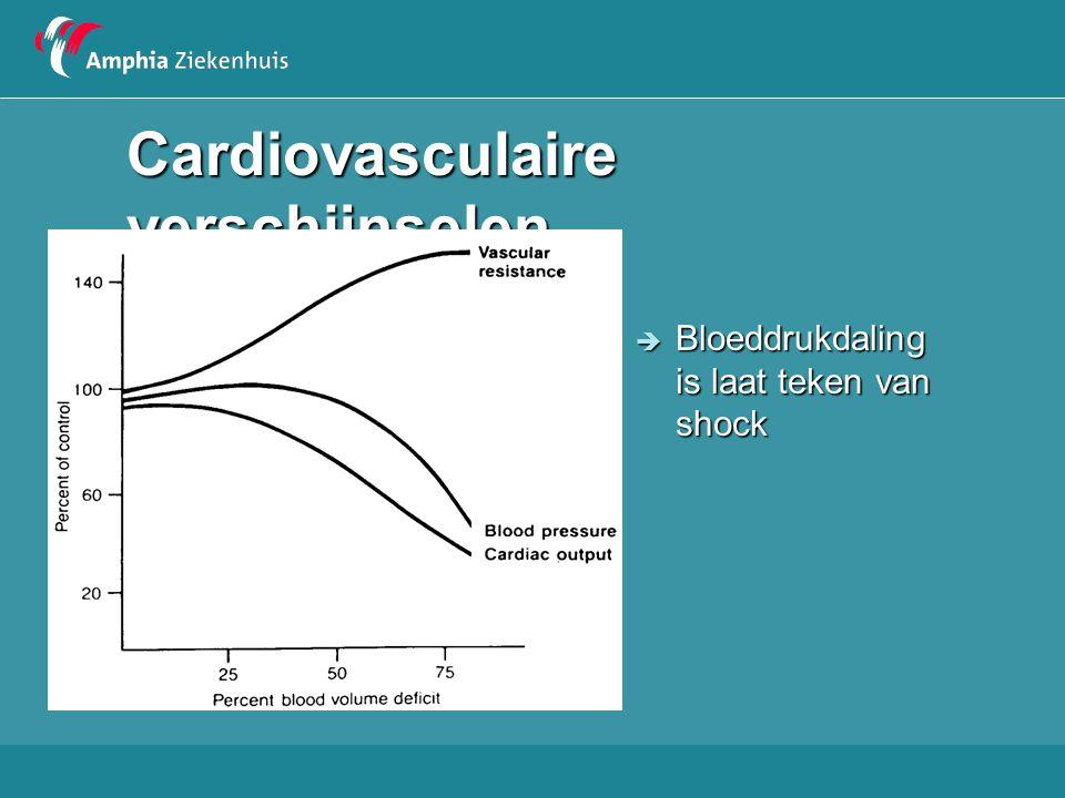 Cardiovasculaire verschijnselen Bloeddruk