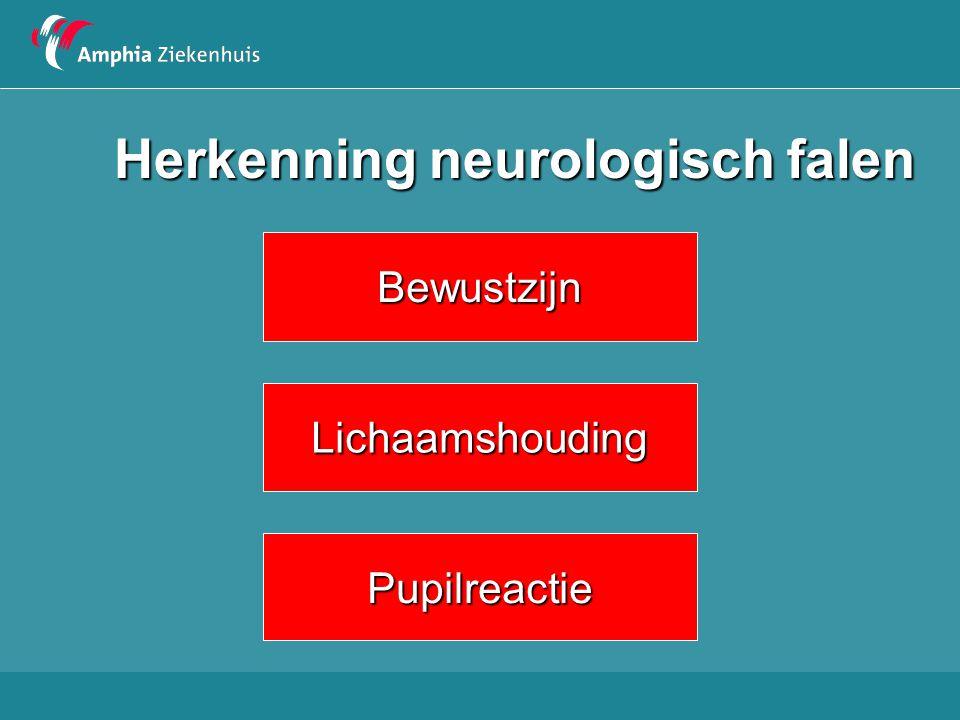 Herkenning neurologisch falen