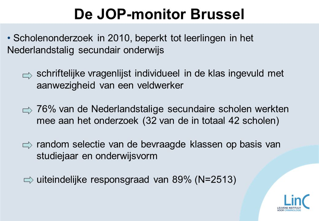 De JOP-monitor Brussel