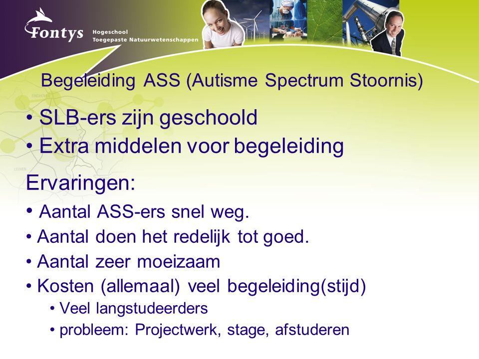 Begeleiding ASS (Autisme Spectrum Stoornis)