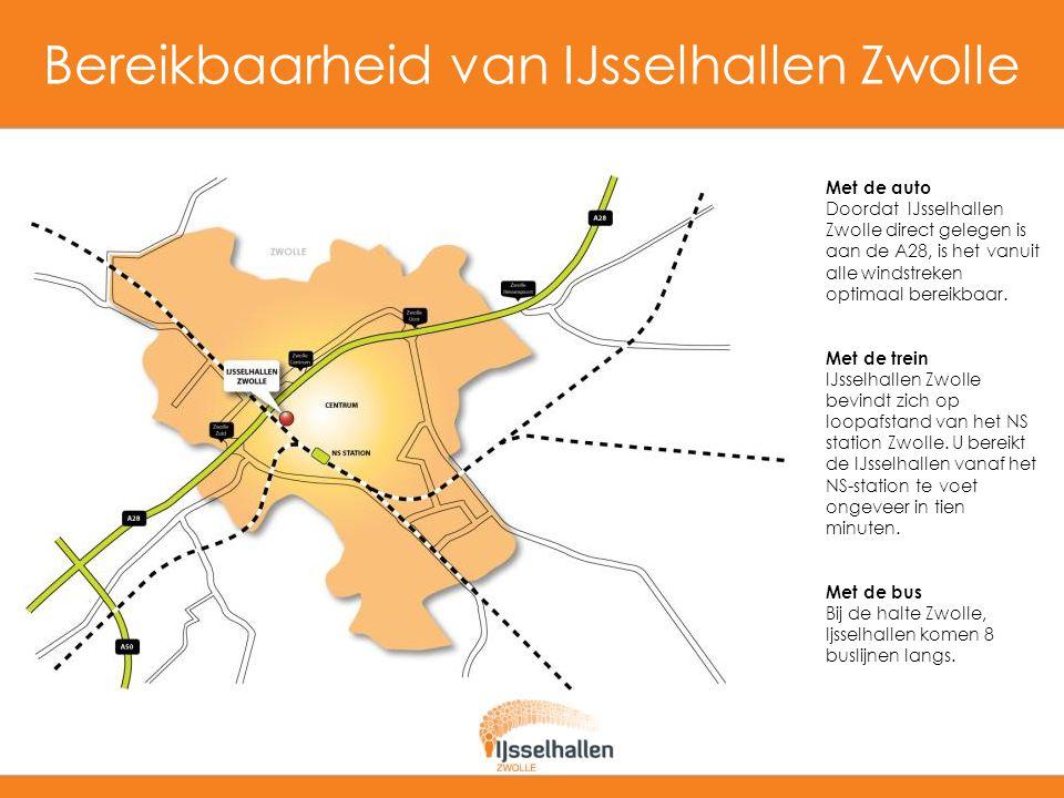 Bereikbaarheid van IJsselhallen Zwolle