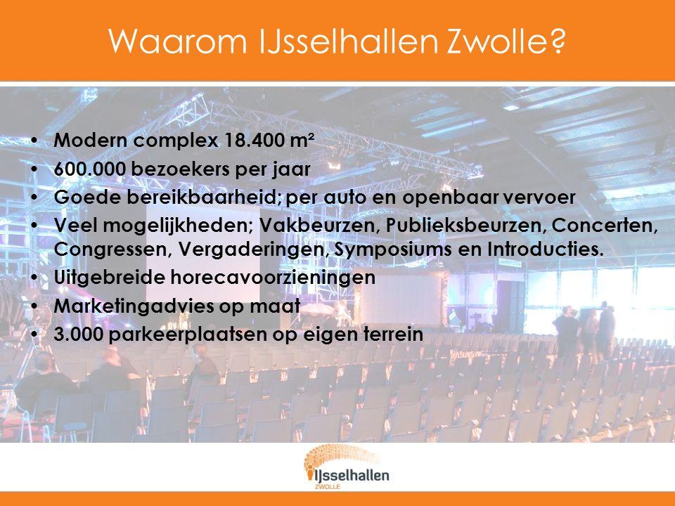Waarom IJsselhallen Zwolle