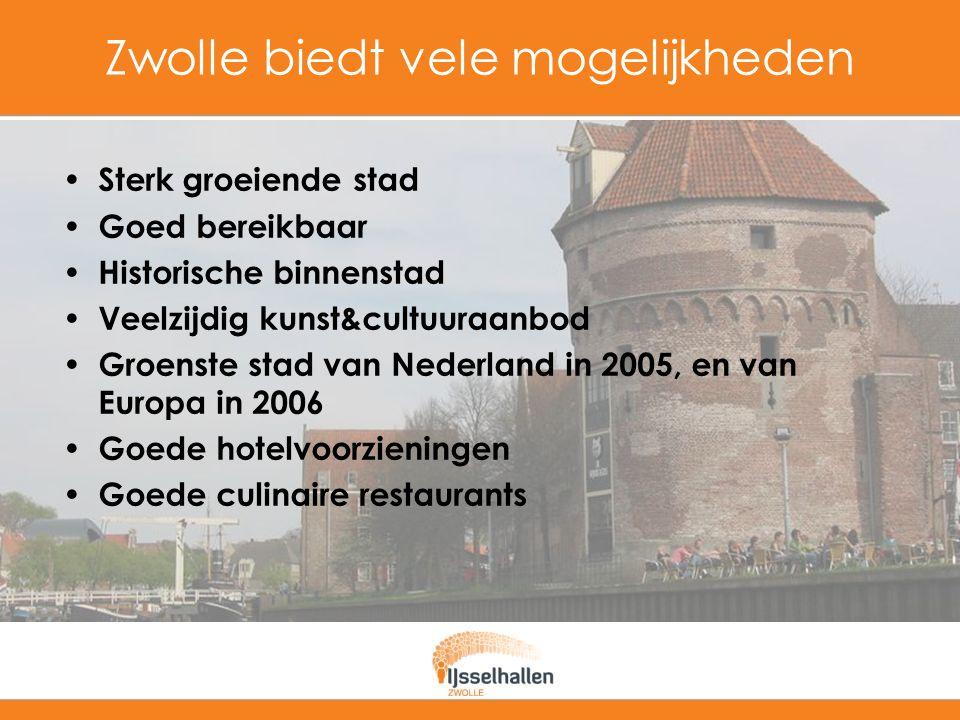 Zwolle biedt vele mogelijkheden