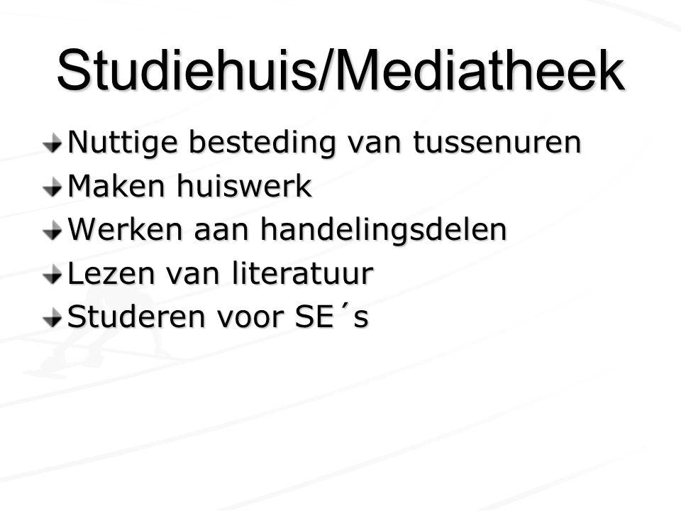 Studiehuis/Mediatheek