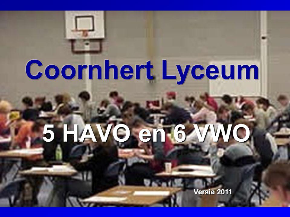 Coornhert Lyceum 5 HAVO en 6 VWO Versie 2011