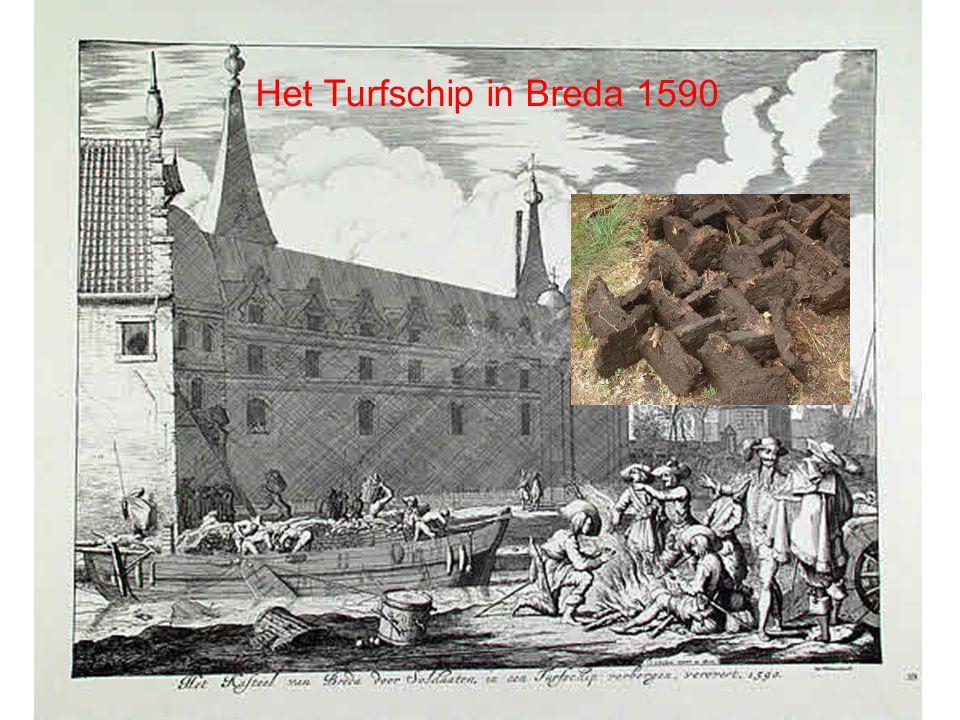 Het Turfschip in Breda 1590