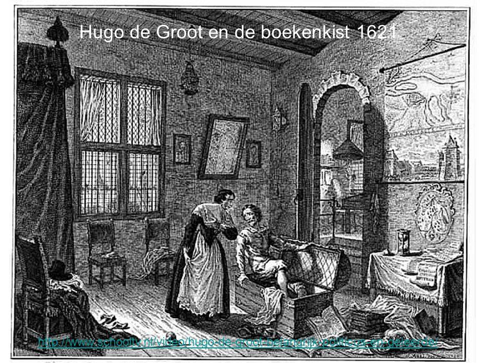 Hugo de Groot en de boekenkist 1621