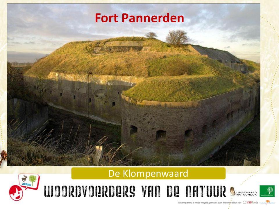 Fort Pannerden En hier zie je Fort Pannerden van dichterbij.