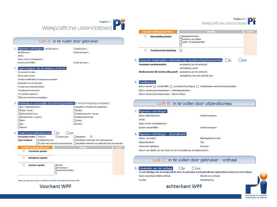 Voorkant WPF achterkant WPF