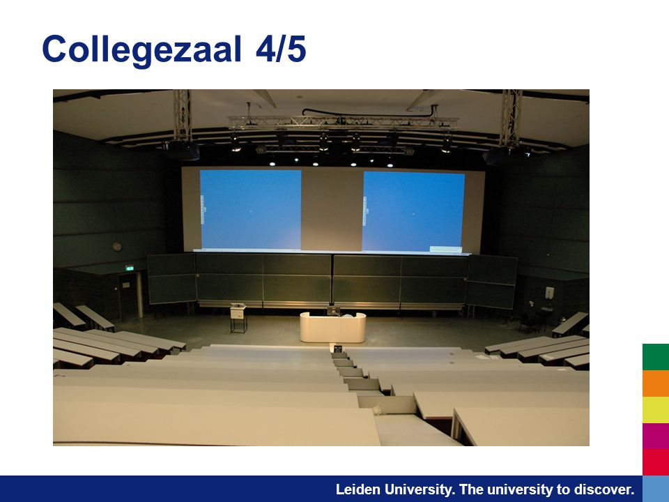 Collegezaal 4/5