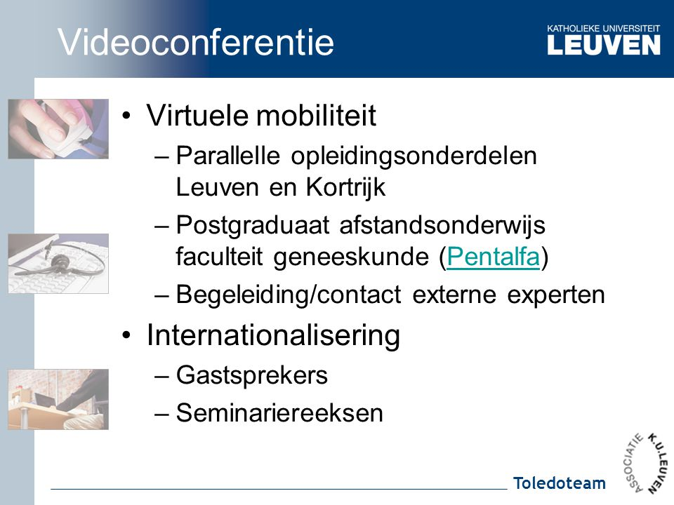 Videoconferentie Virtuele mobiliteit Internationalisering