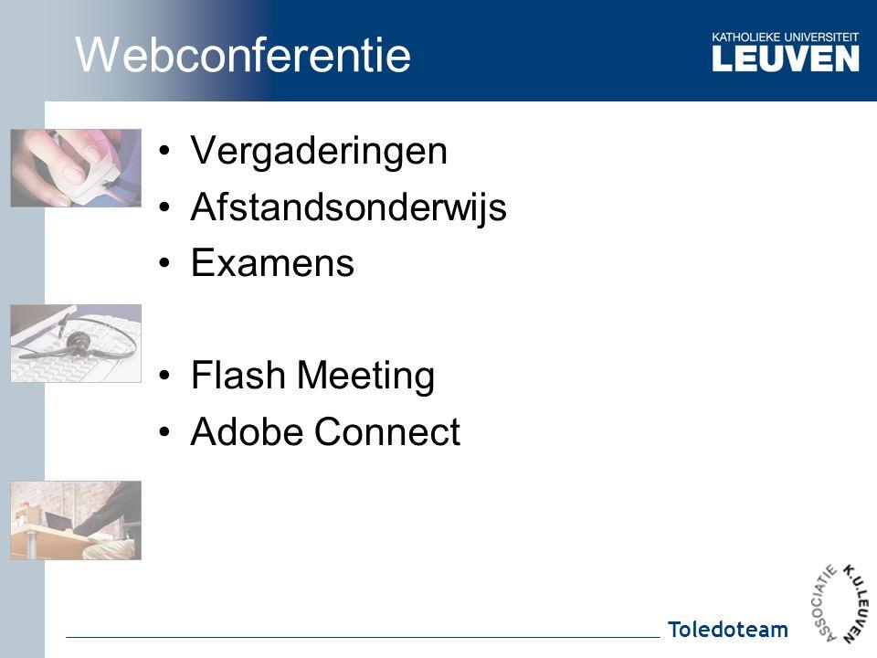 Webconferentie Vergaderingen Afstandsonderwijs Examens Flash Meeting