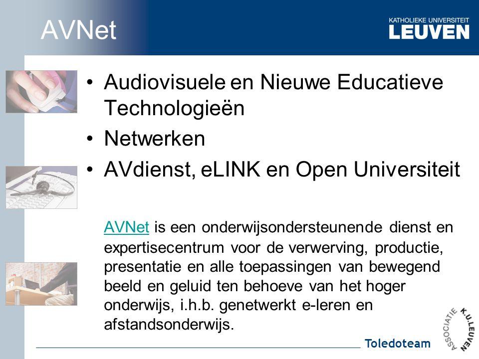 AVNet Audiovisuele en Nieuwe Educatieve Technologieën Netwerken