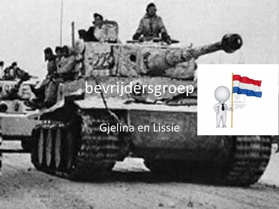 bevrijdersgroep Gjelina en Lissie