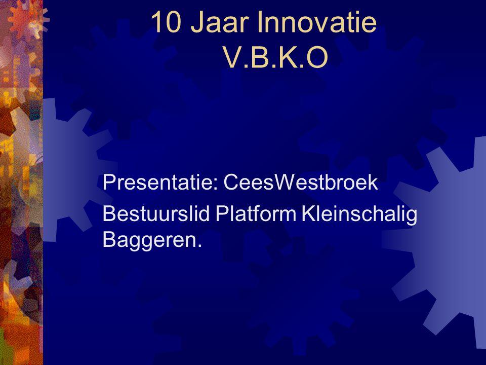 Presentatie: CeesWestbroek Bestuurslid Platform Kleinschalig Baggeren.