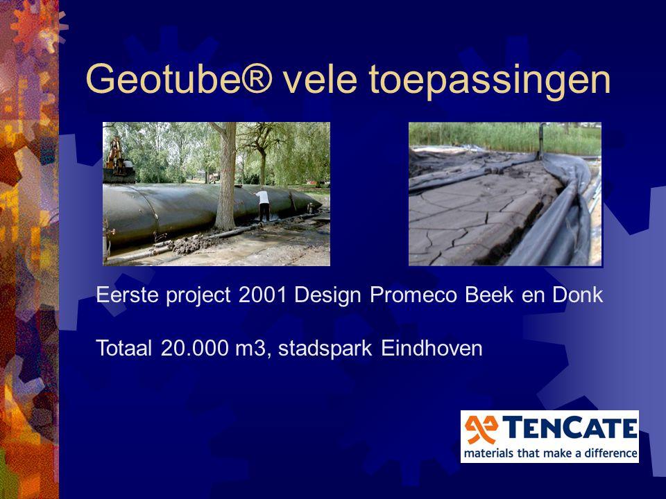 Geotube® vele toepassingen