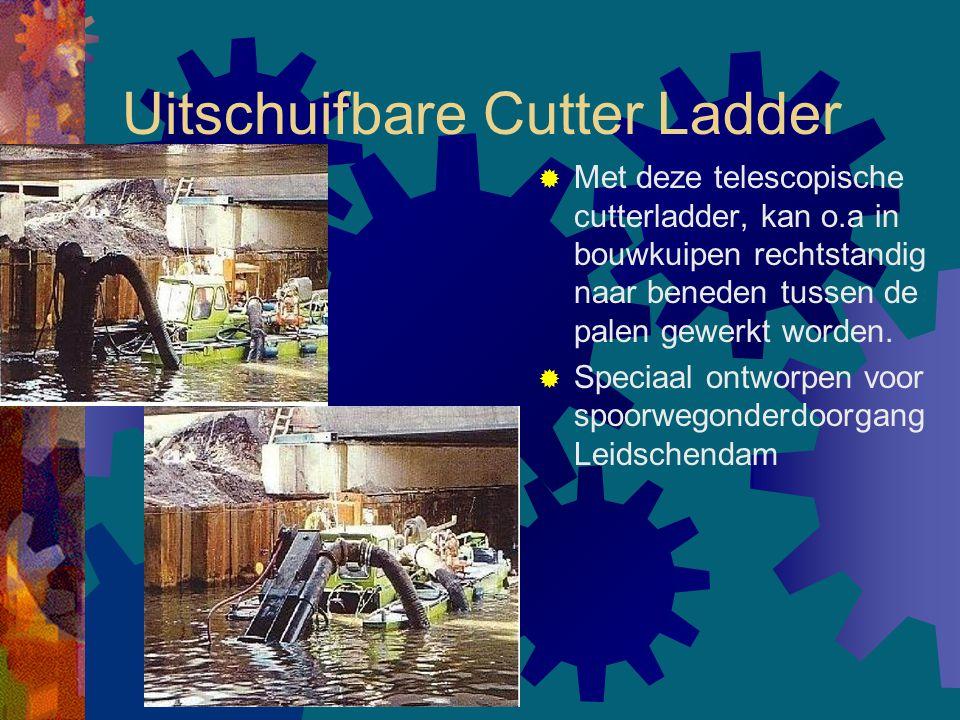 Uitschuifbare Cutter Ladder