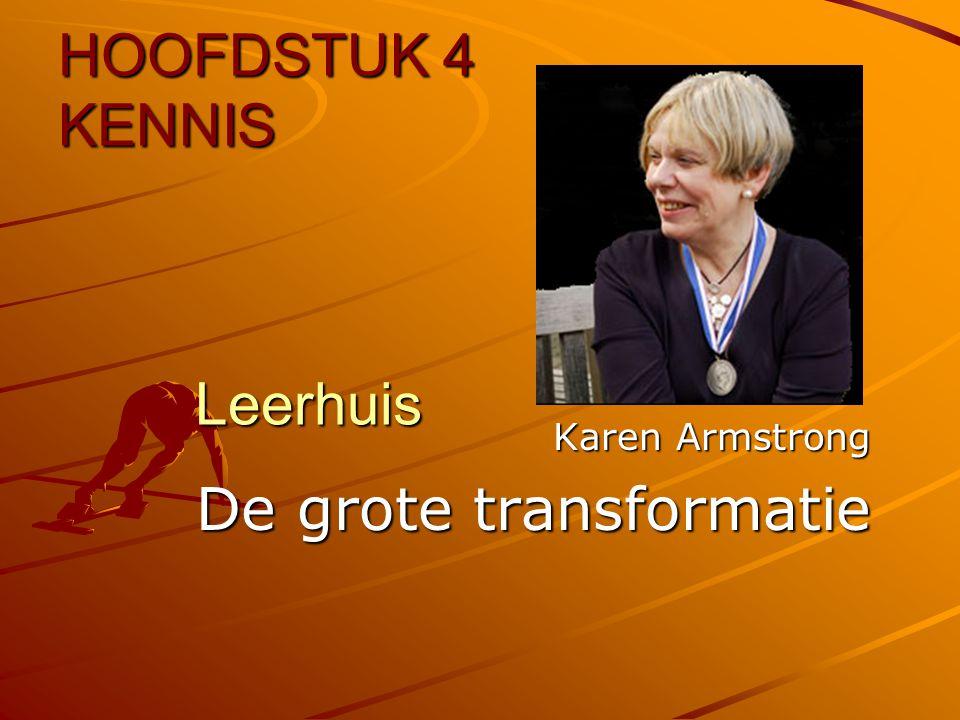 Karen Armstrong De grote transformatie