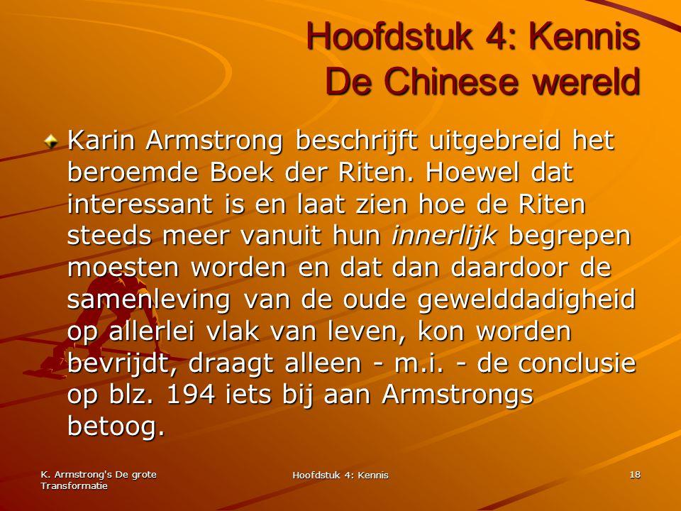 Hoofdstuk 4: Kennis De Chinese wereld