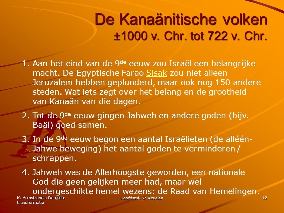 De Kanaänitische volken ±1000 v. Chr. tot 722 v. Chr.