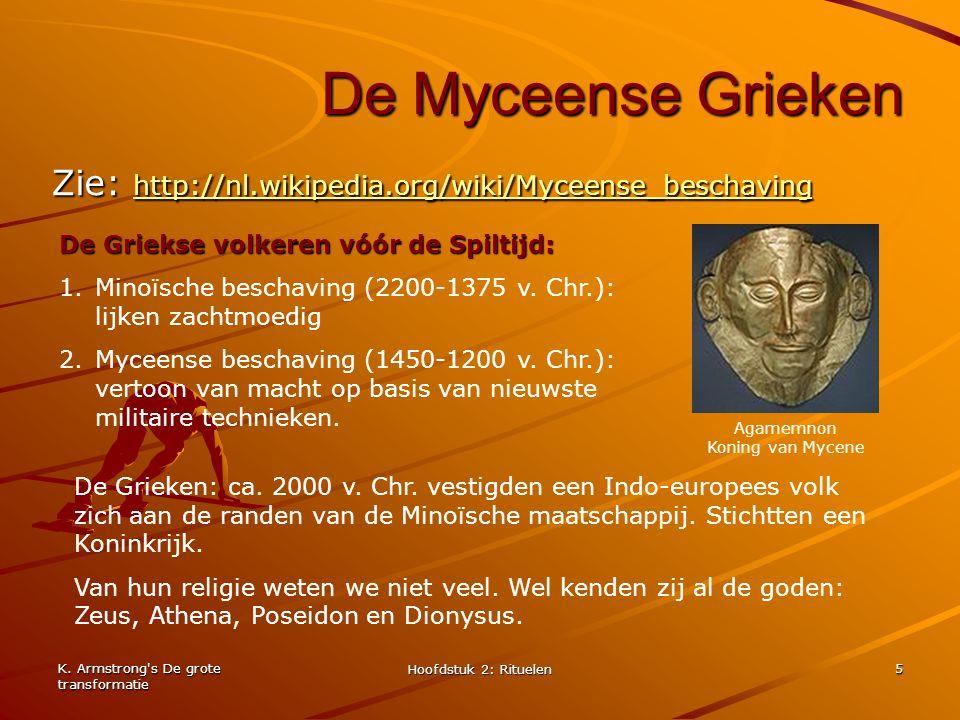 Agamemnon Koning van Mycene