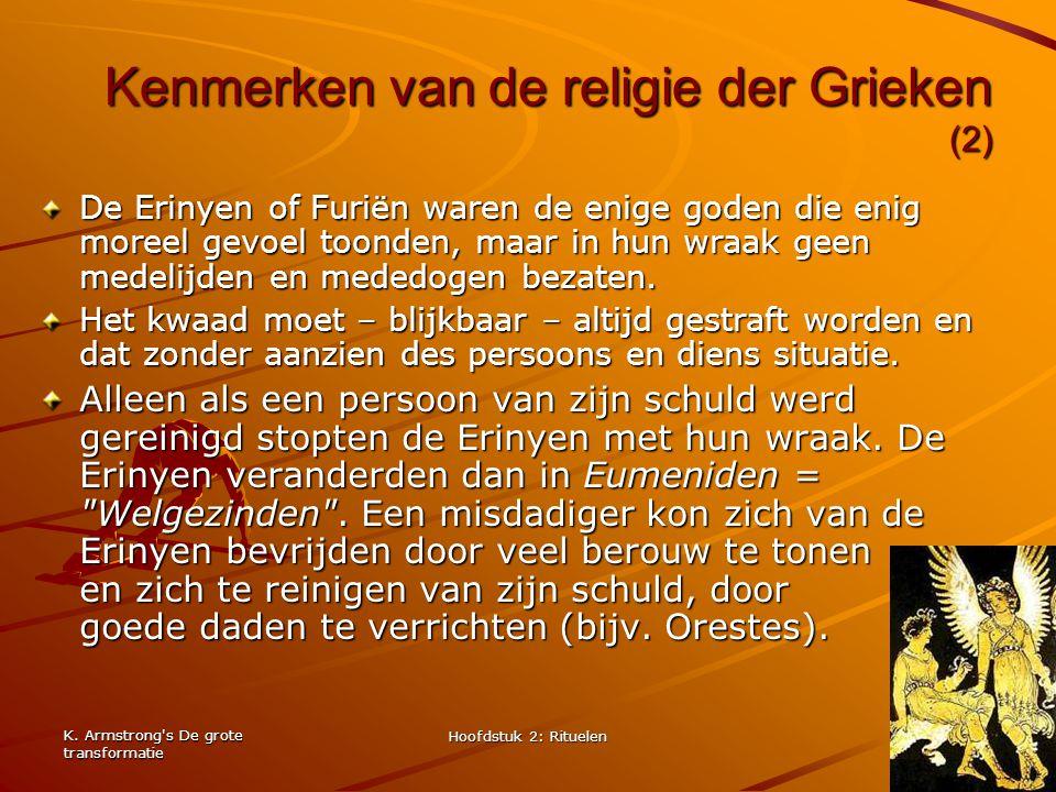 Kenmerken van de religie der Grieken (2)