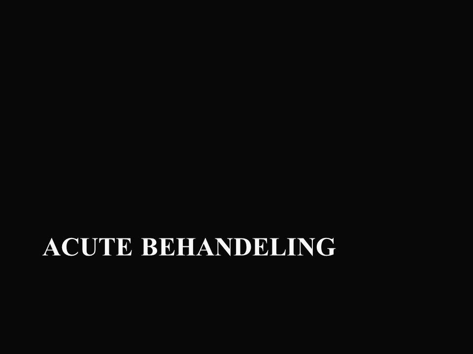 ACUTE BEHANDELING