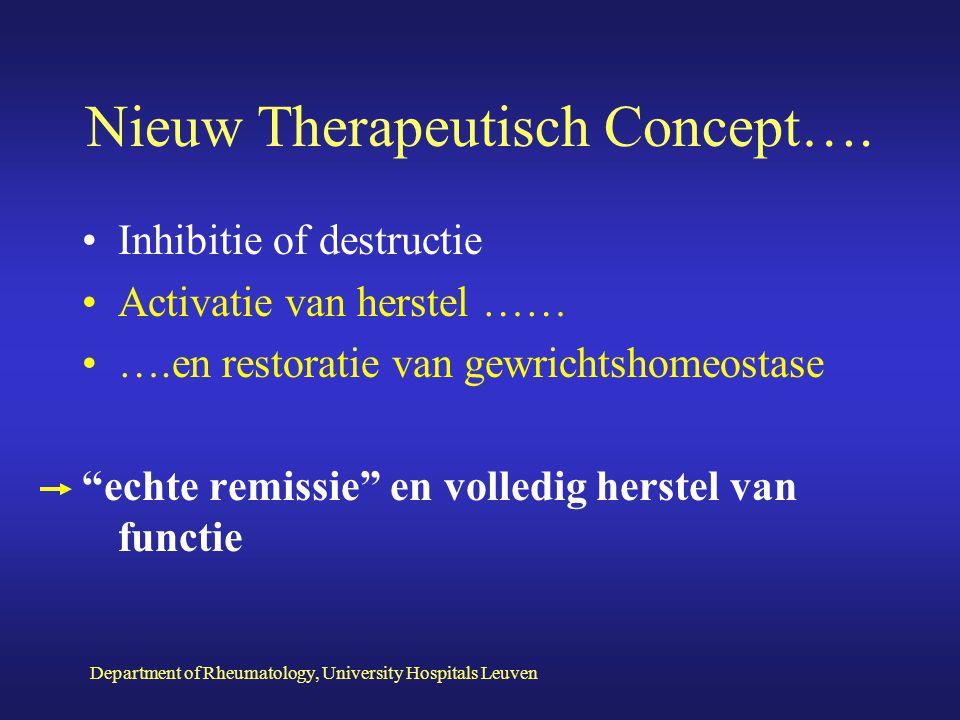 Nieuw Therapeutisch Concept….