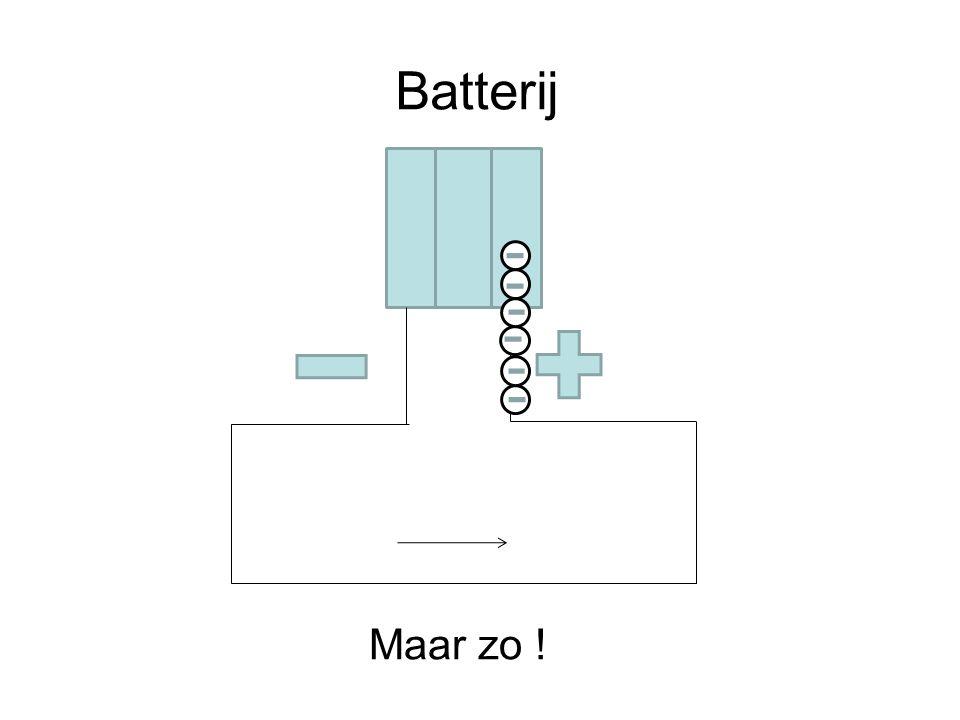 Batterij Maar zo !