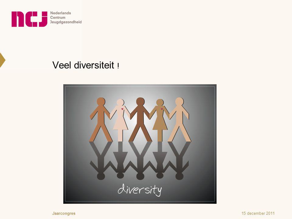 Veel diversiteit !