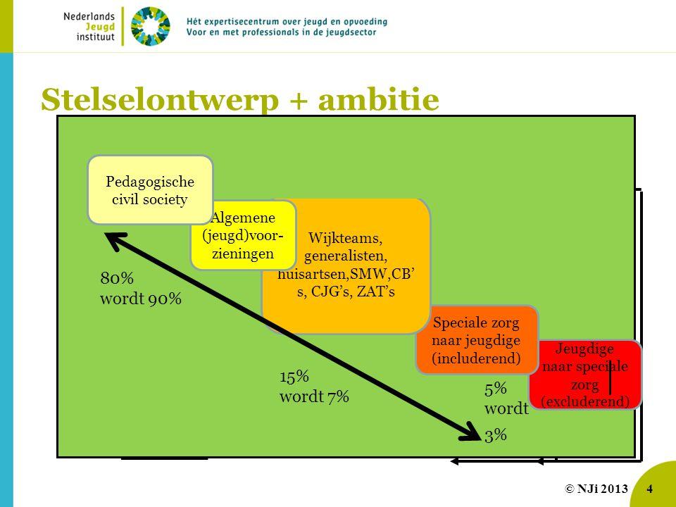 Stelselontwerp + ambitie