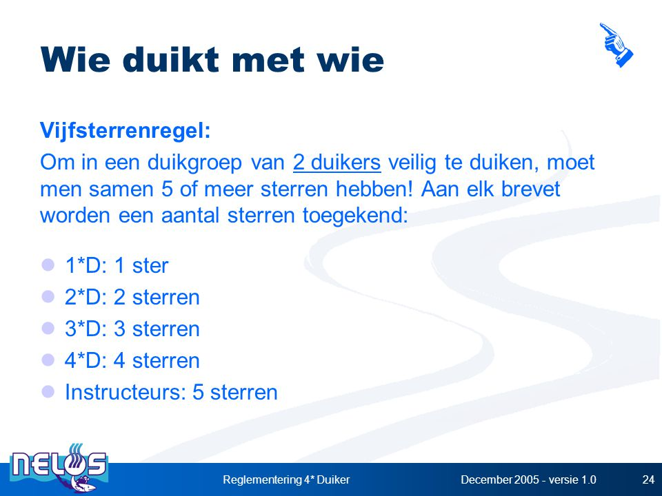 Reglementering 4* Duiker