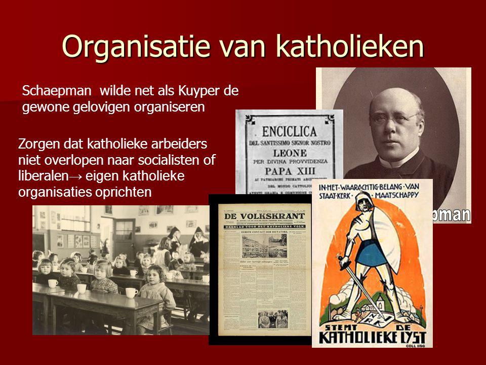 Organisatie van katholieken