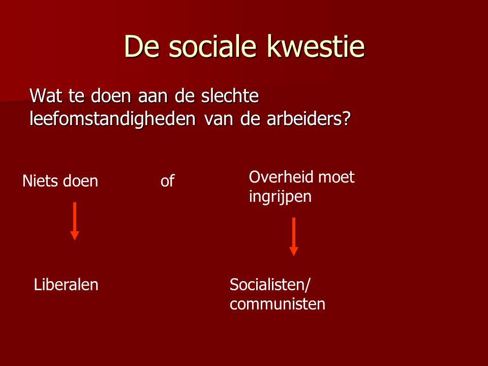 De sociale kwestie Wat te doen aan de slechte