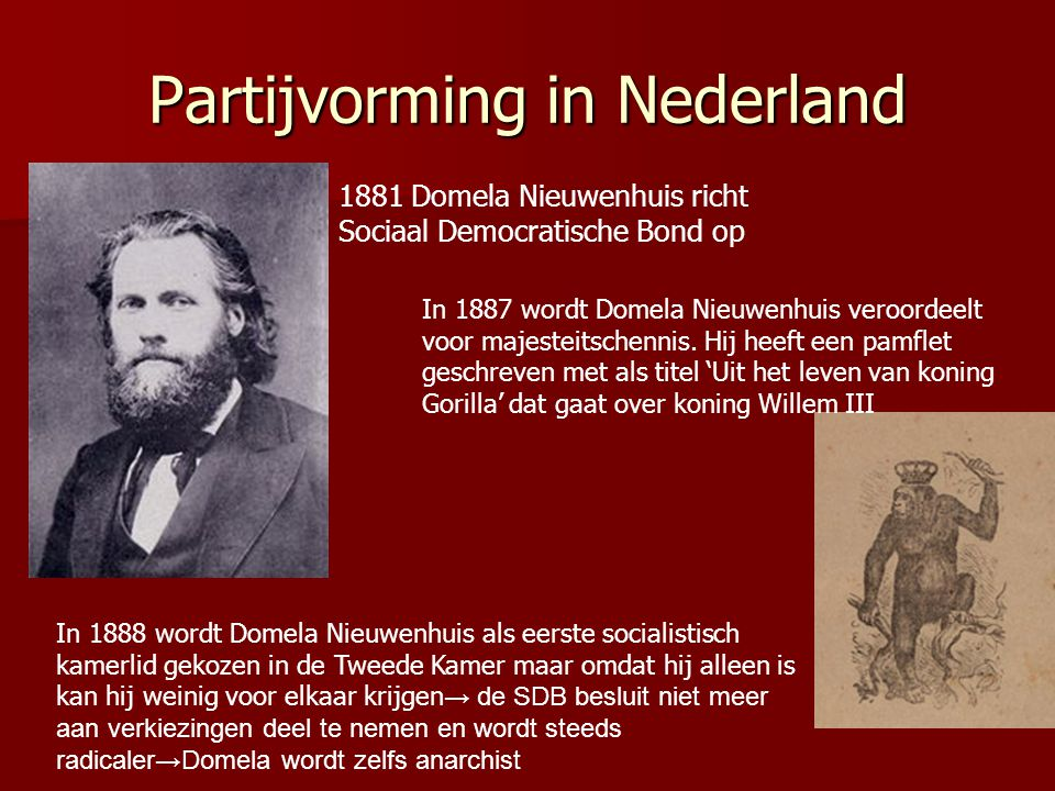 Partijvorming in Nederland