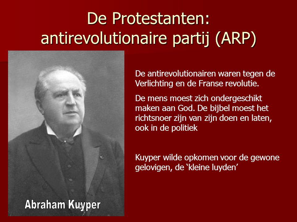 De Protestanten: antirevolutionaire partij (ARP)