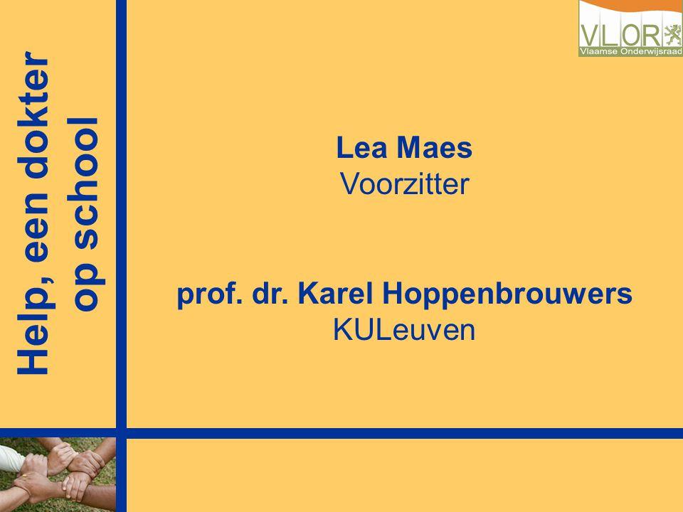 prof. dr. Karel Hoppenbrouwers