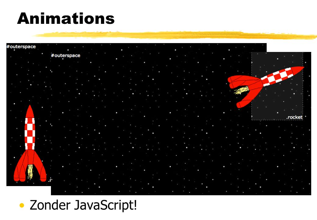 Animations Op basis van at-rules Zonder JavaScript! @keyframes