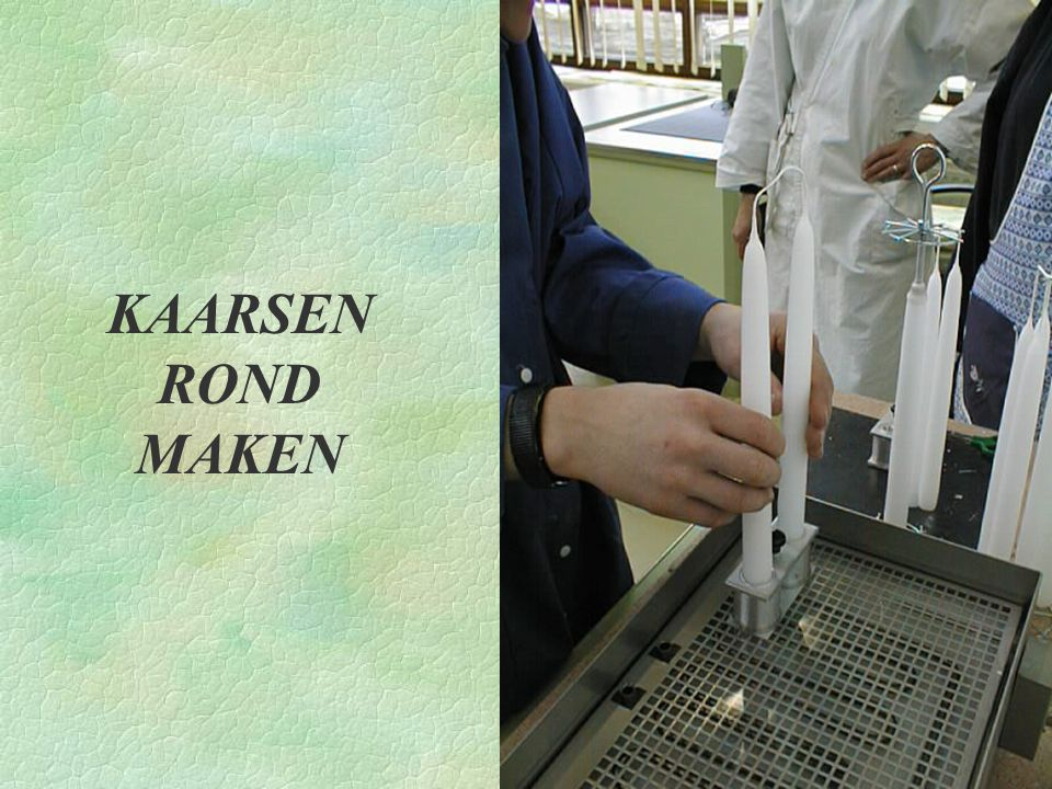 KAARSEN ROND MAKEN