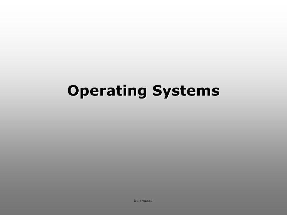 Operating Systems Informatica