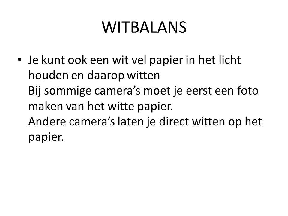 WITBALANS