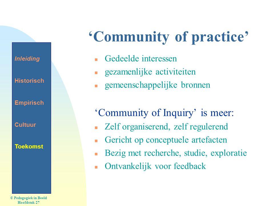 'Community of practice'