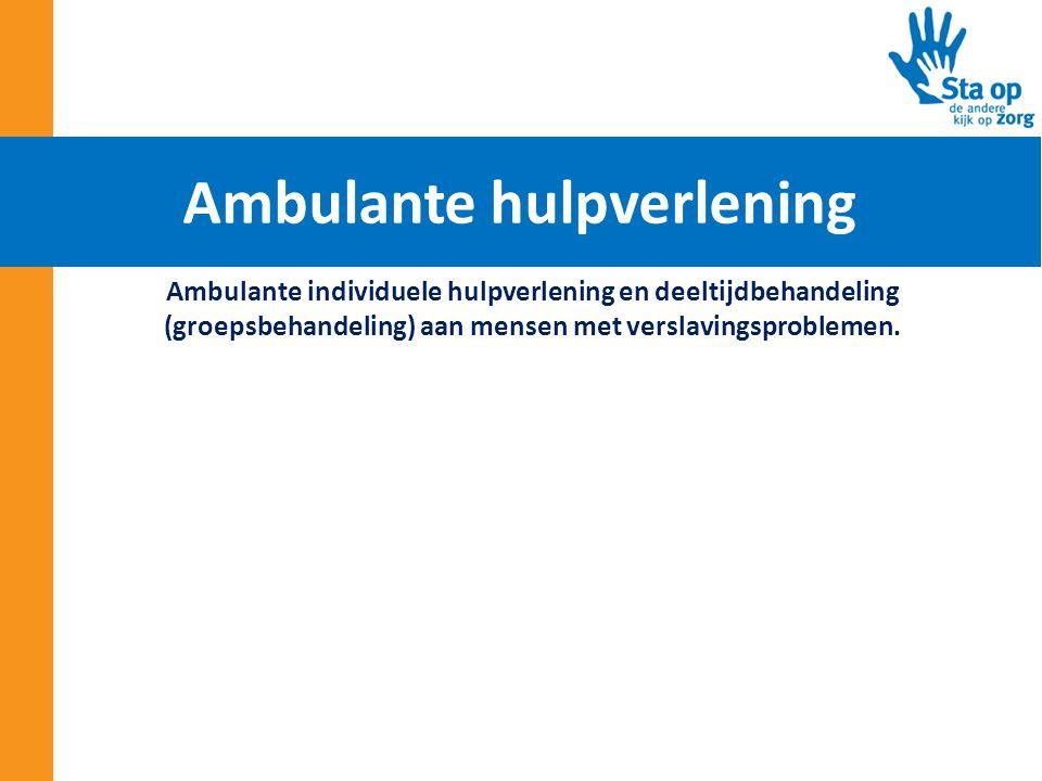 Ambulante hulpverlening