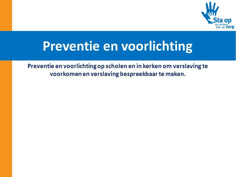 Preventie en voorlichting